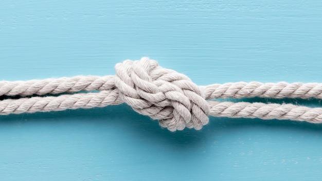 Корабль белых веревок с узлом Бесплатные Фотографии