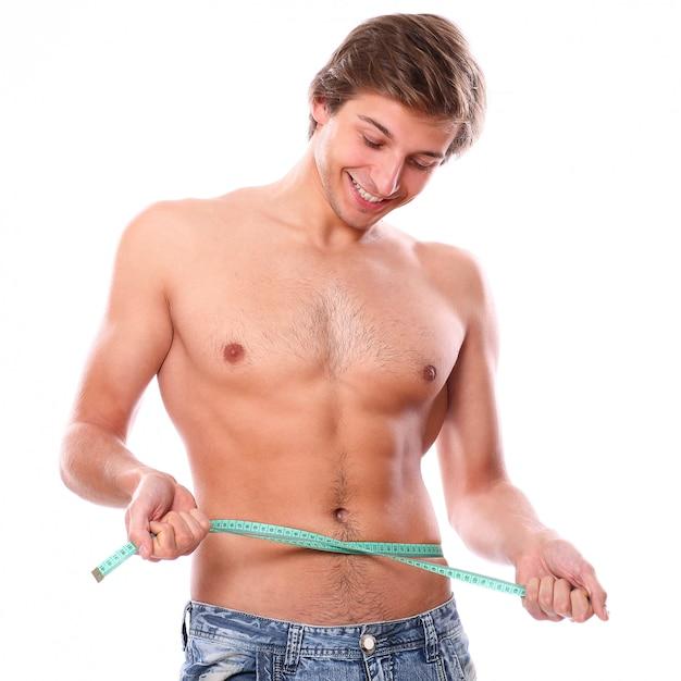 Shirtless man model Free Photo