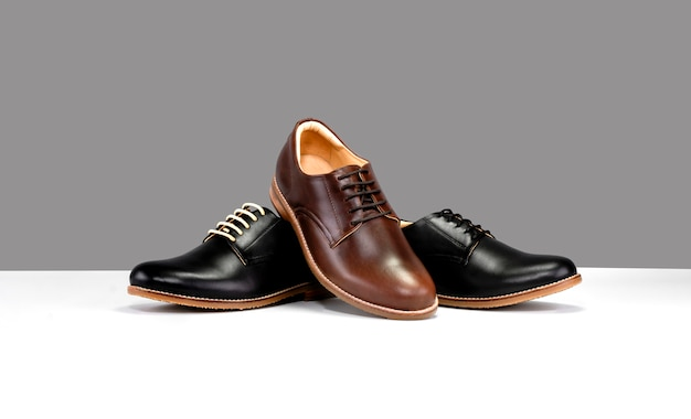 Shoes with black and brown Premium Photo