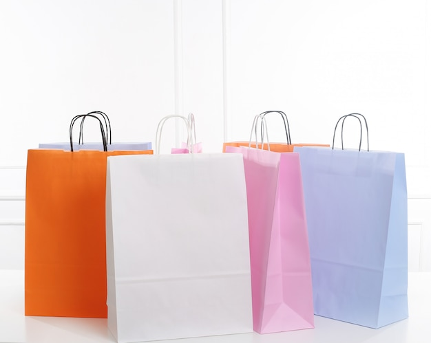 Shopping bags Free Photo
