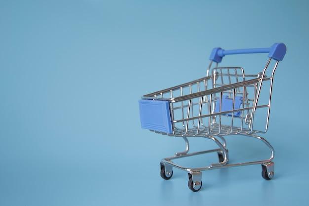 Shopping cart miniature Free Photo
