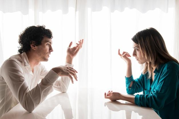 Even happy couples do argue