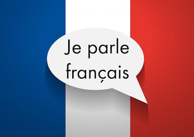 Sign speaking french Premium Photo