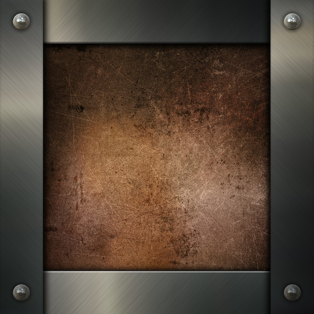 Silver Metal Frame Photo Free Download