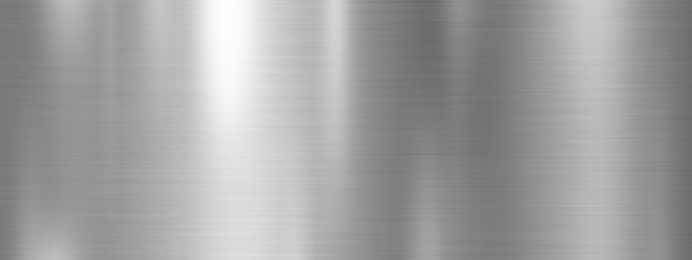 Silver metal texture background design Premium Photo