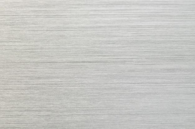 Silver ribbed metal tech grey background Premium Photo