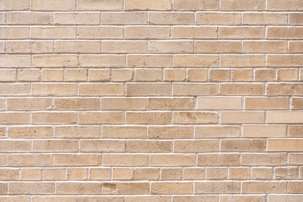Simple brick wall background Premium Photo