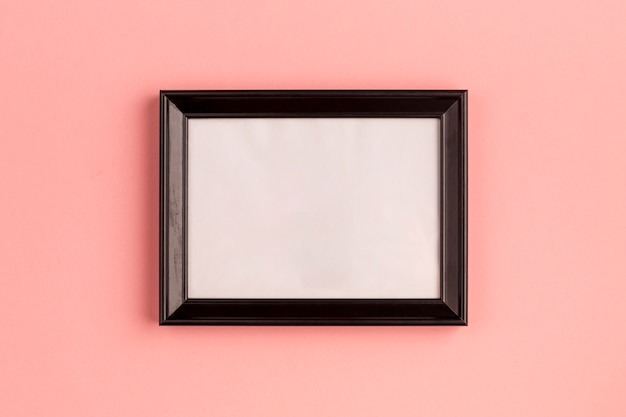Simple empty photo frame Free Photo