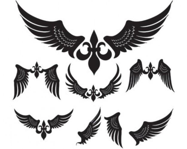 Simple Wings Vector Pack