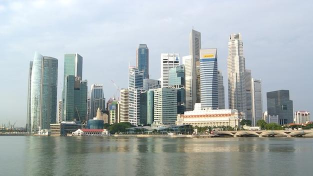Singapore skyline buildings city urban skyscrapers Photo ...