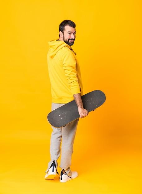A skater man Premium Photo