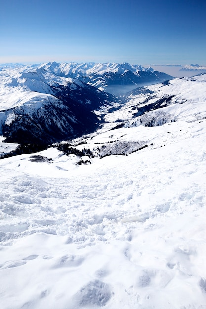 Горнолыжный курорт во французских альпах Бесплатные Фотографии