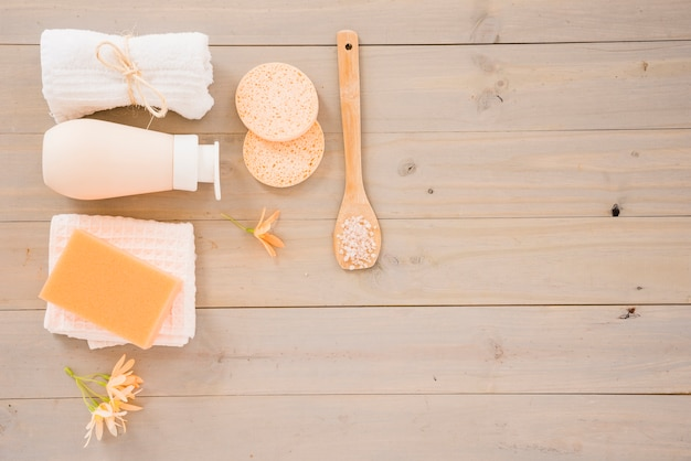 Skin care products for cleaning Free Photo