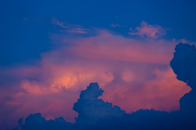 Небо во время заката Бесплатные Фотографии