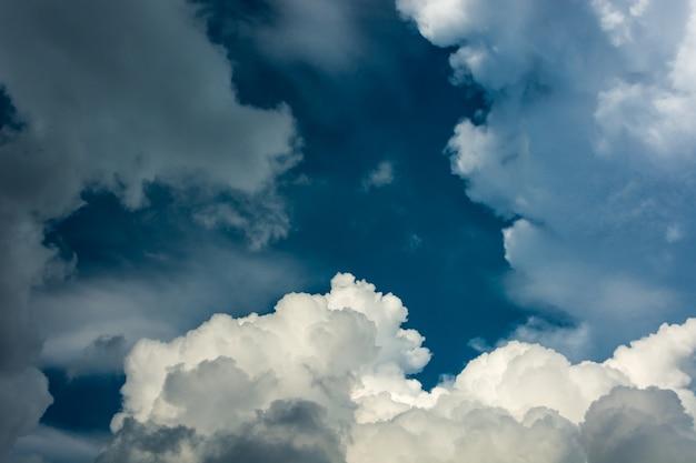 Cielo-nuvole sfondo. Foto Gratuite