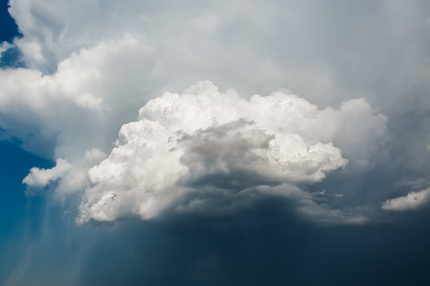Sky with stormy clouds epic Premium Photo