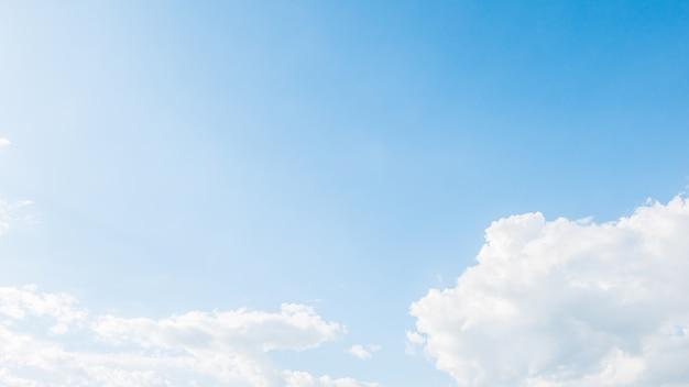 흰 구름과 하늘 무료 사진