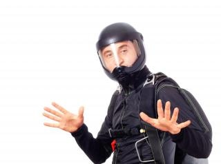Skydiver , man Free Photo