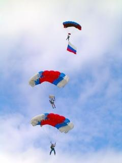 Skydivers Free Photo