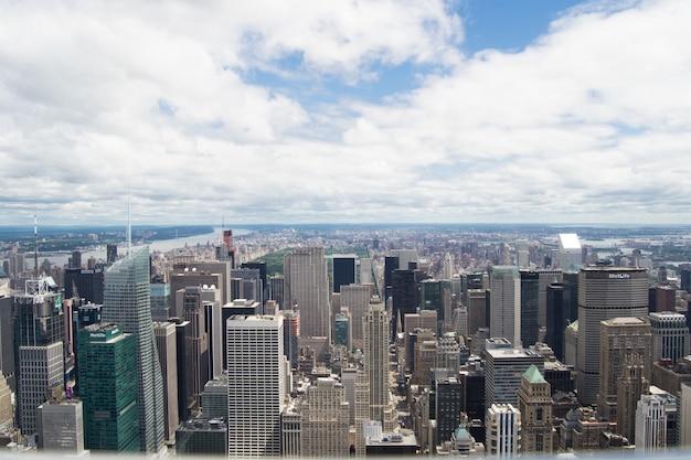 Небоскребы современного нью-йорка, сша Бесплатные Фотографии