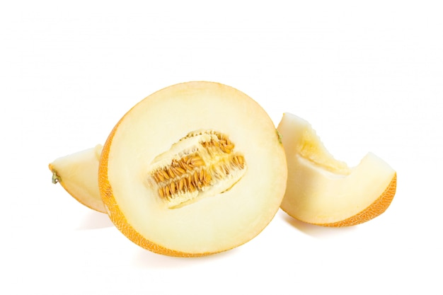 Sliced melon Premium Photo