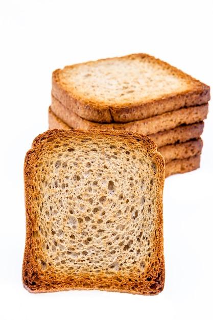 Slices of toast Premium Photo