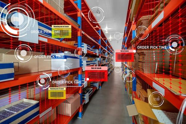 Smart warehouse management system using augmented reality technology Premium Photo