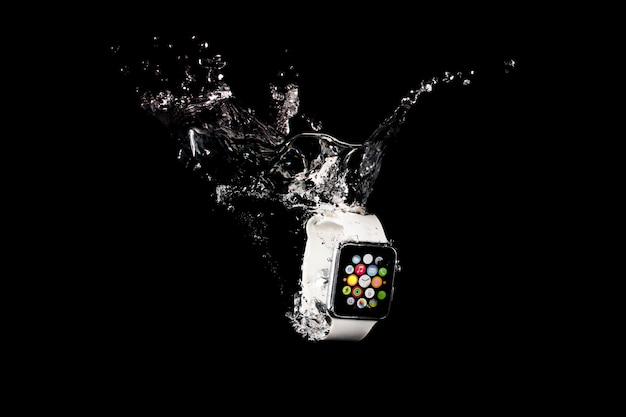 Smartwatch submerged Free Photo