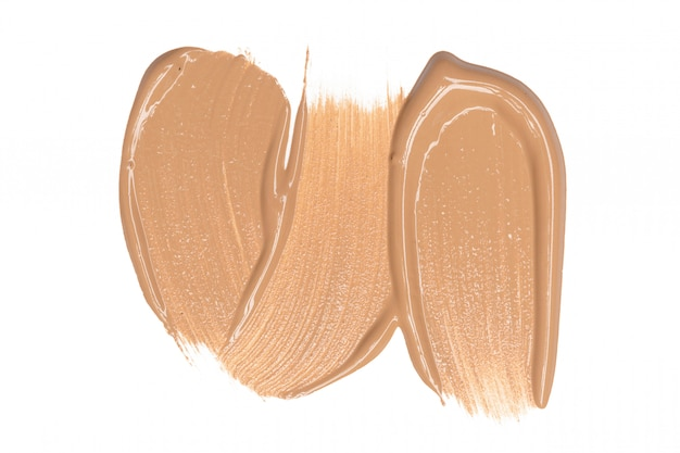 Smeared foundation natural make up Premium Photo