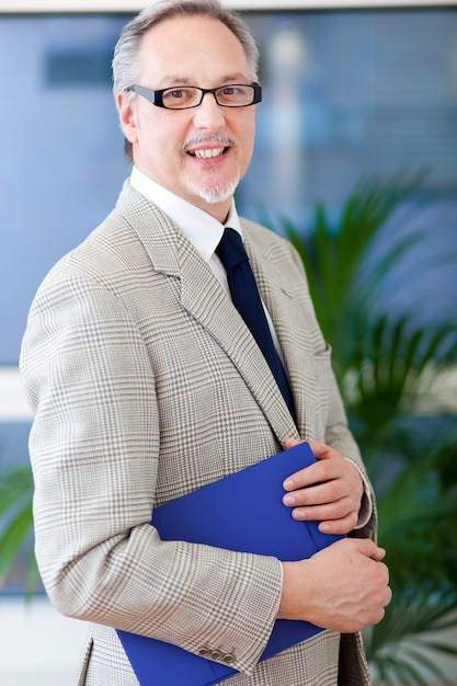 Mature business man