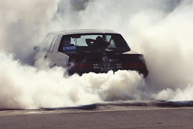 Smoke Car Photo  Free Download-9118
