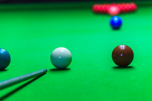 Snooker ball Premium Photo
