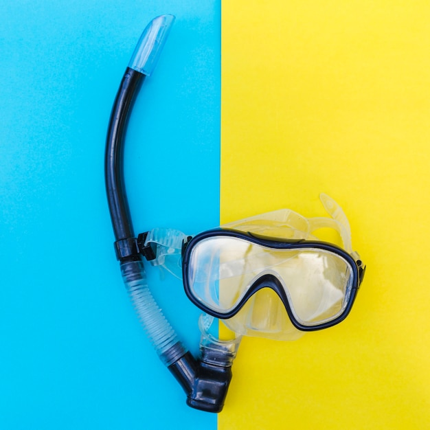 Snorkelmask in close-up Free Photo