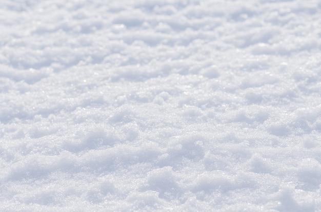 Snow winter background Premium Photo