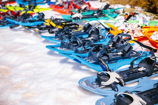 Snowshoes Premium Photo