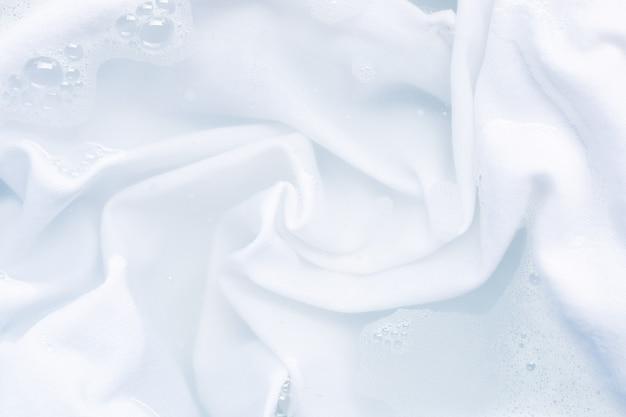 Soak a cloth before washing Premium Photo