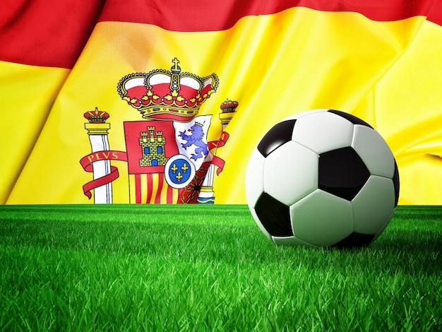 Soccer ball spain Premium Photo