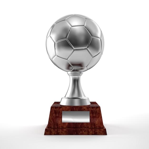 Soccer trophy Premium Photo