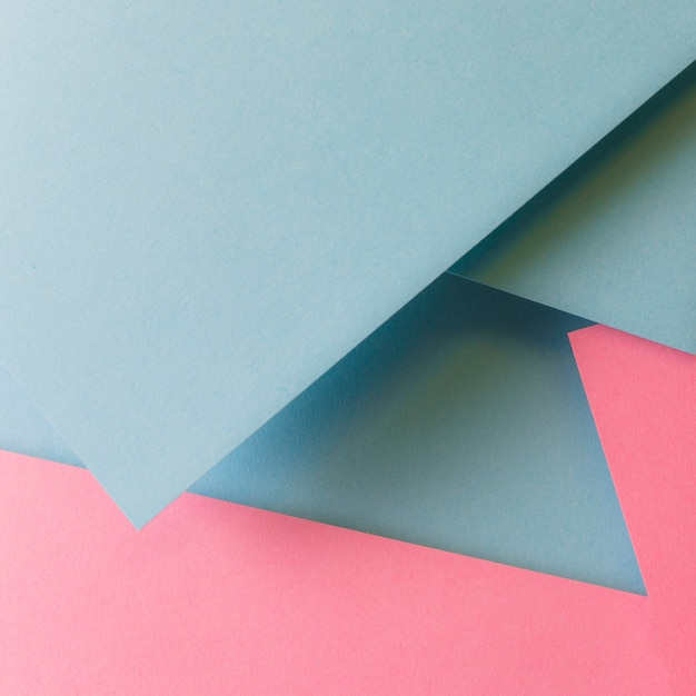 Soft geometric paper background Free Photo