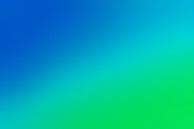 파란색에서 녹색으로 부드러운 전환 프리미엄 사진