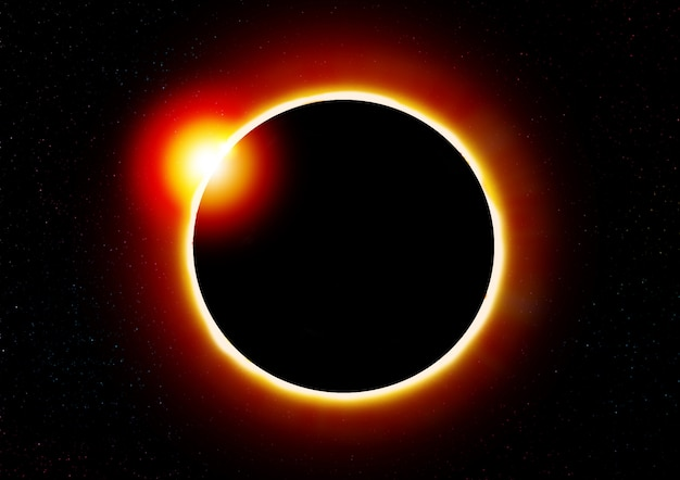 Solar eclipse. Premium Photo