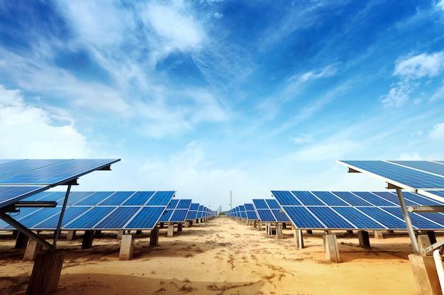 Solar panel Premium Photo