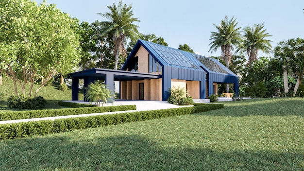 minimalist modular house design