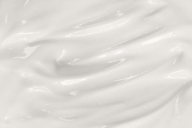 Sour cream texture Premium Photo