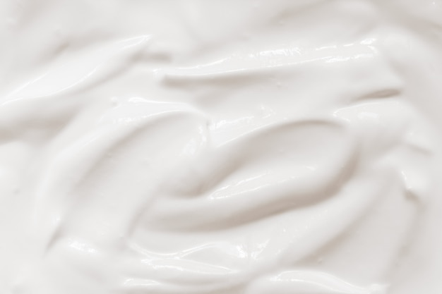 Sour cream, yogurt texture Premium Photo