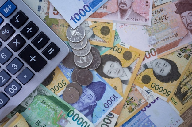 Currency South Korean Won