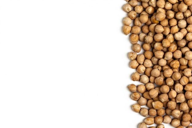 Soybeans isolated background Premium Photo