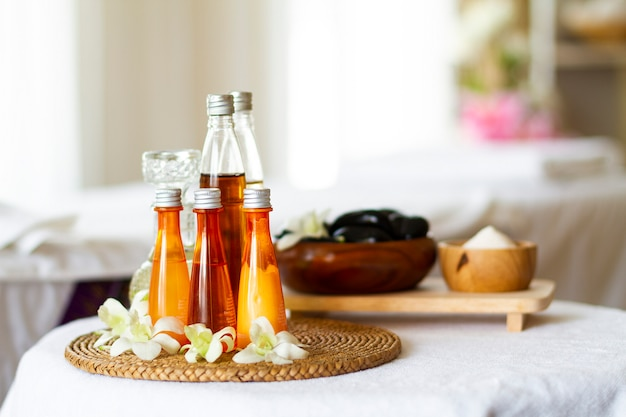 Spa accessories for massage healthy Free Photo