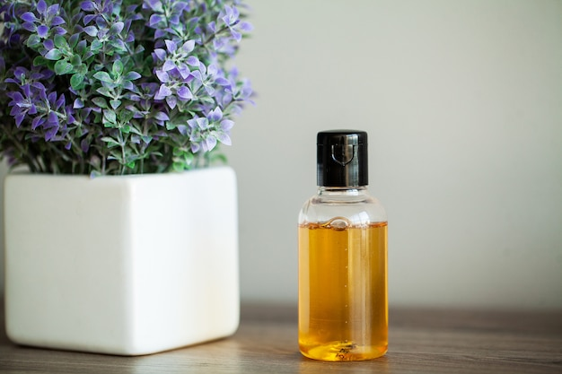 Spa relax and healthy care. healthy . natural domestic products for skincare Premium Photo