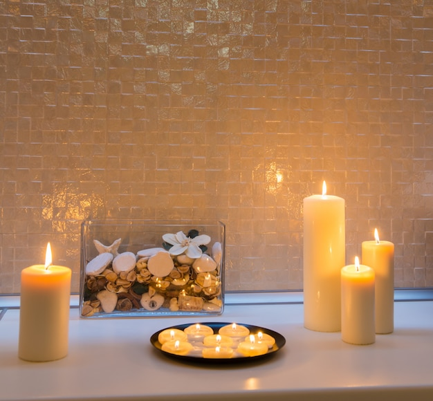 Spa Salon Decoration Detail Photo | Free Download